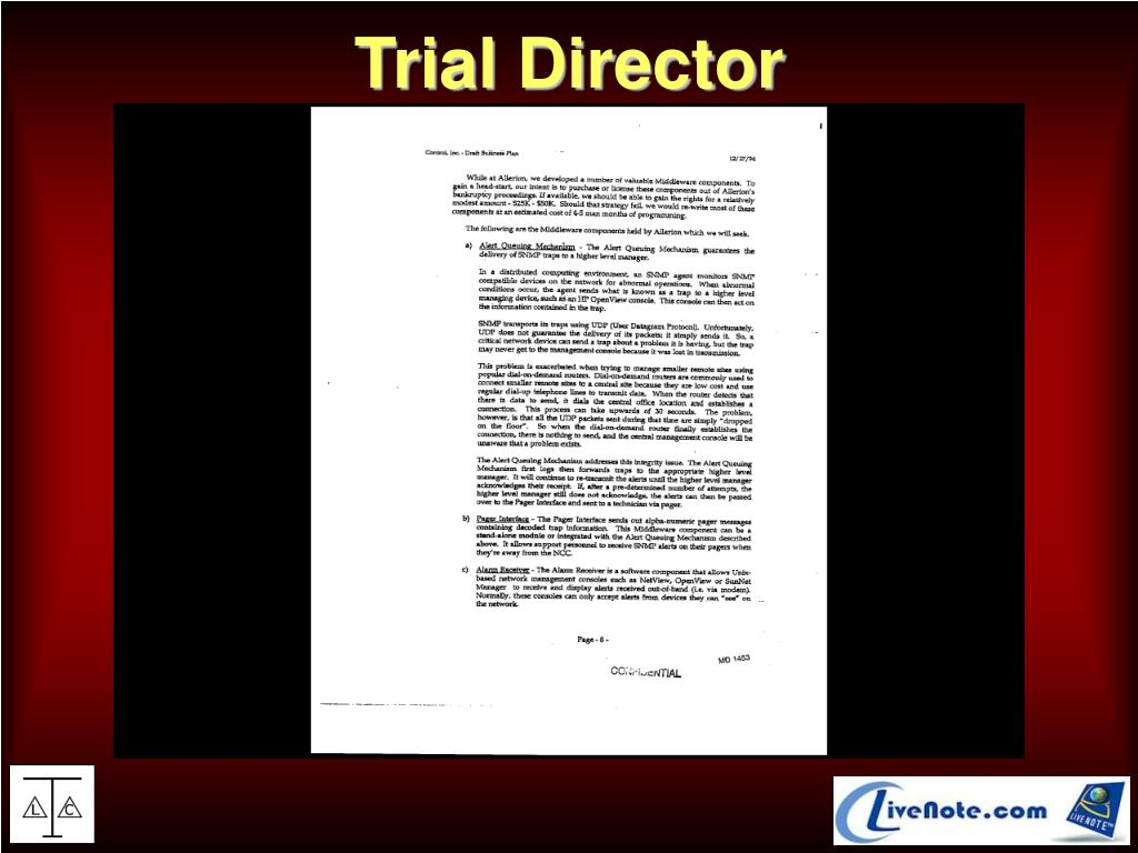 Trial Director