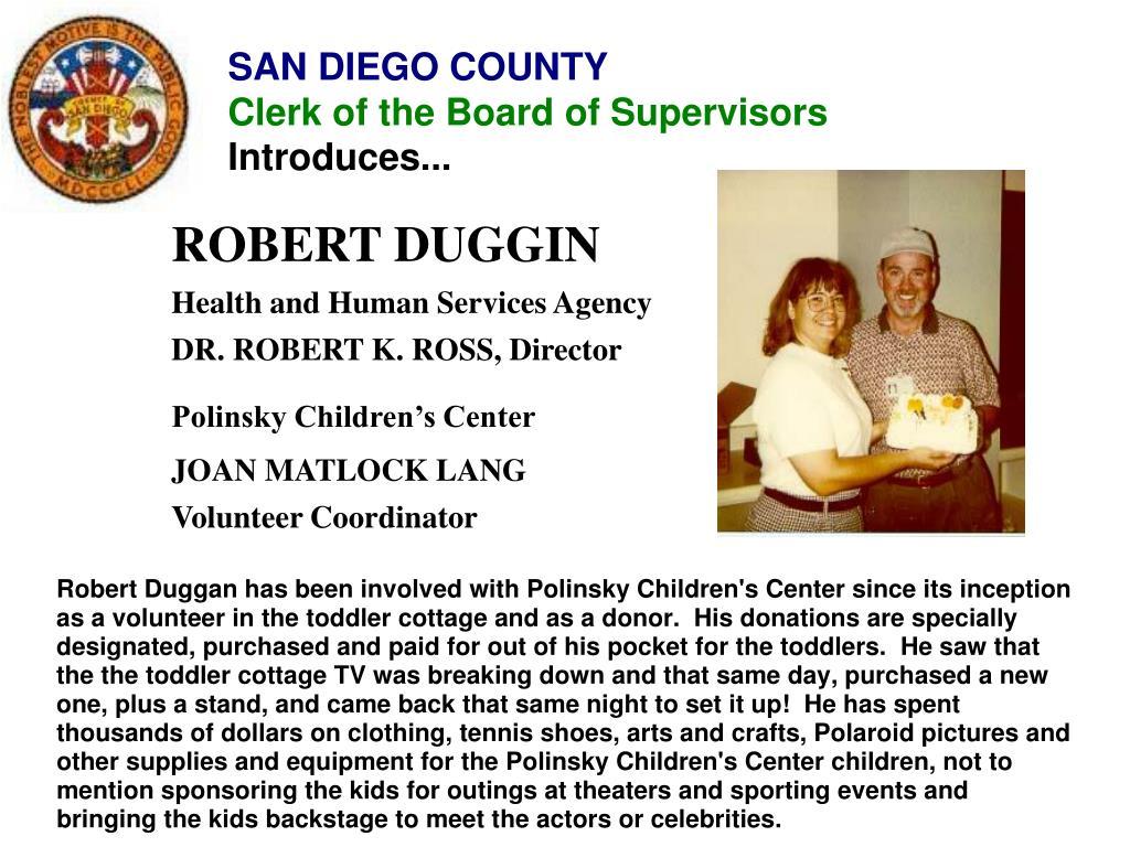 ROBERT DUGGIN