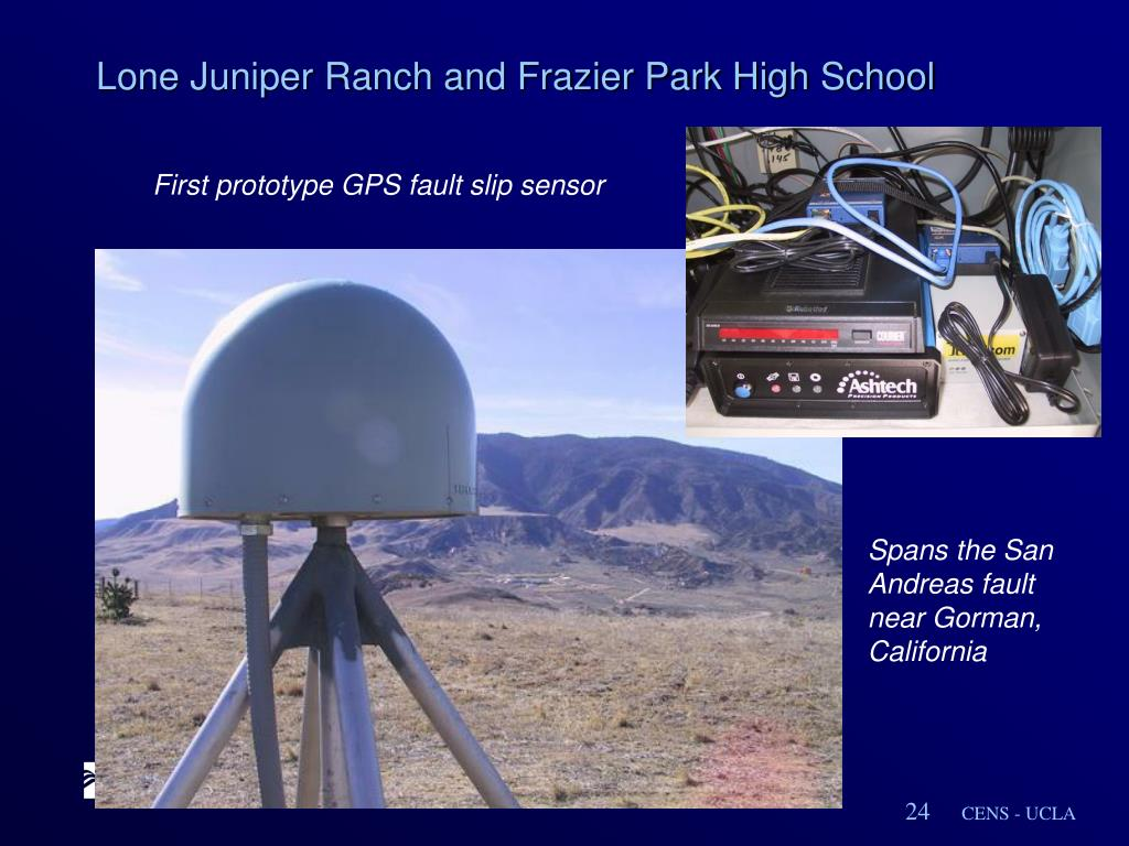 Lone Juniper Ranch and Frazier Park High School
