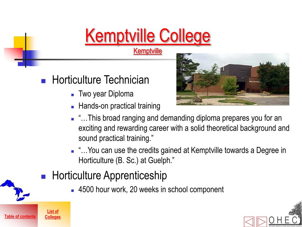 Kemptville College