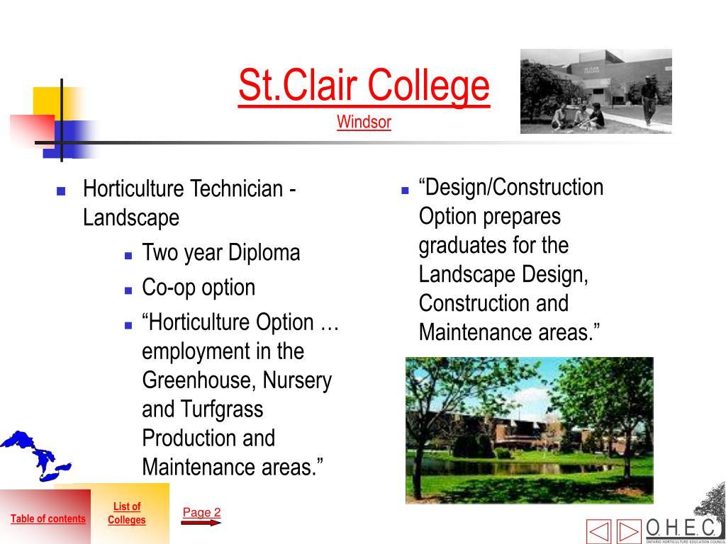 Horticulture Technician - Landscape