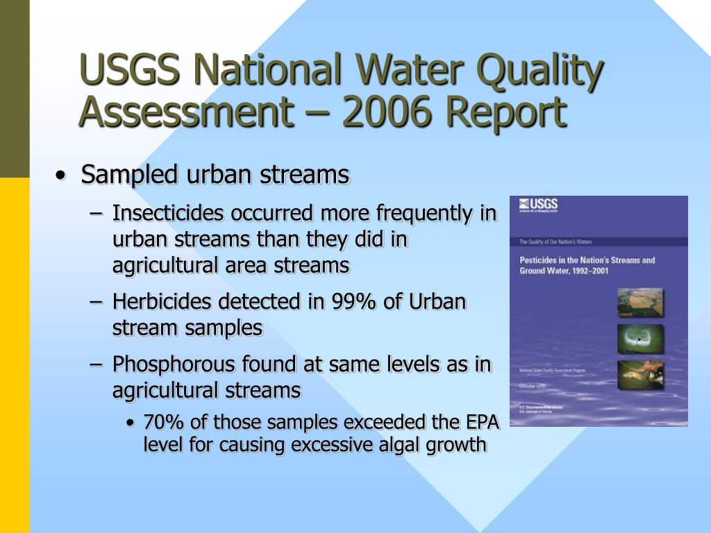 USGS National Water Quality Assessment – 2006 Report