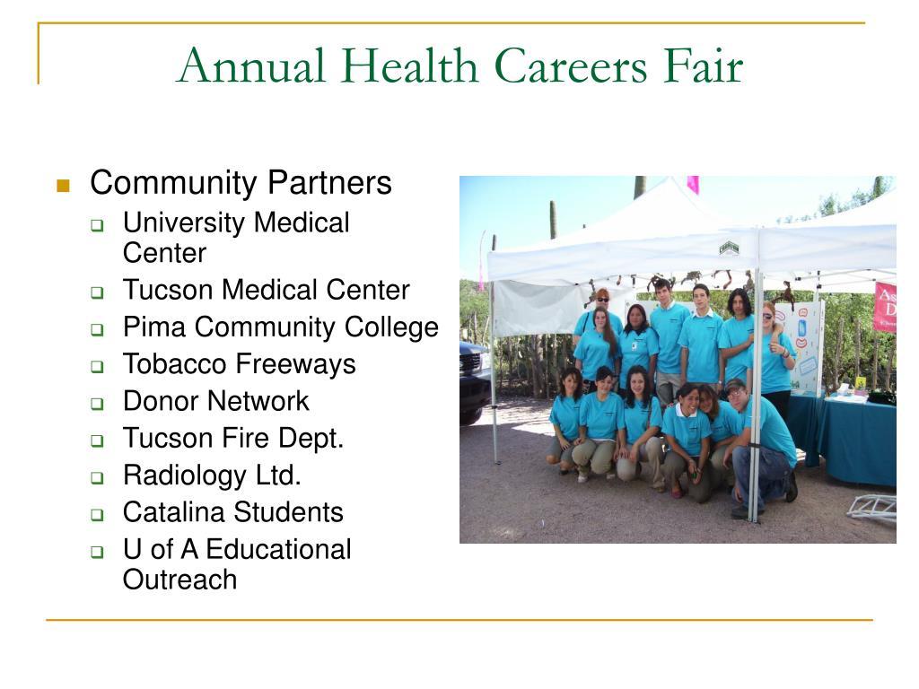 Annual Health Careers Fair