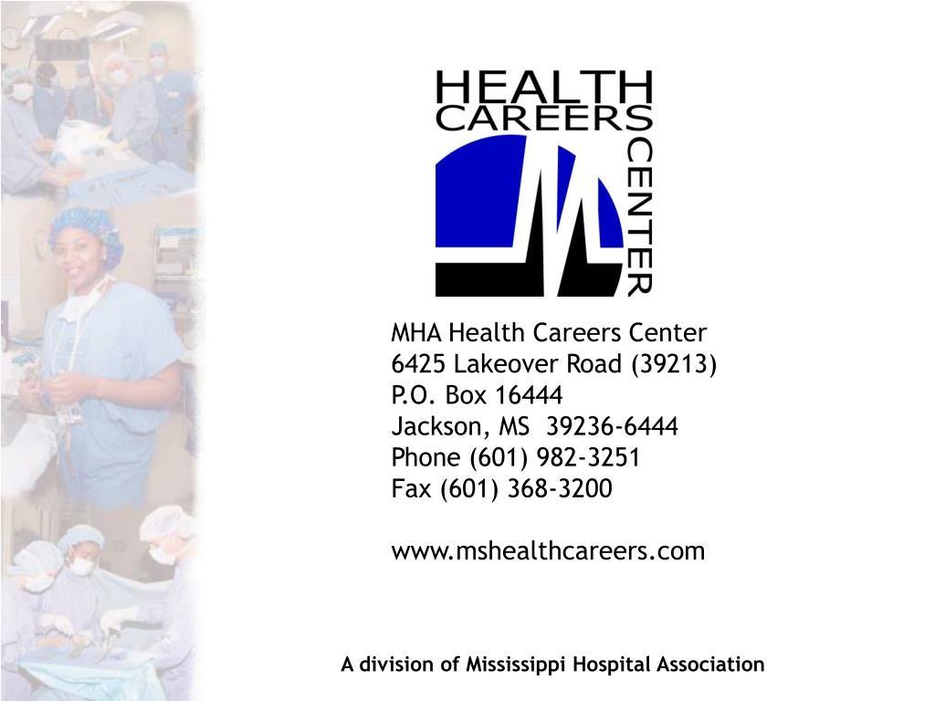 MHA Health Careers Center