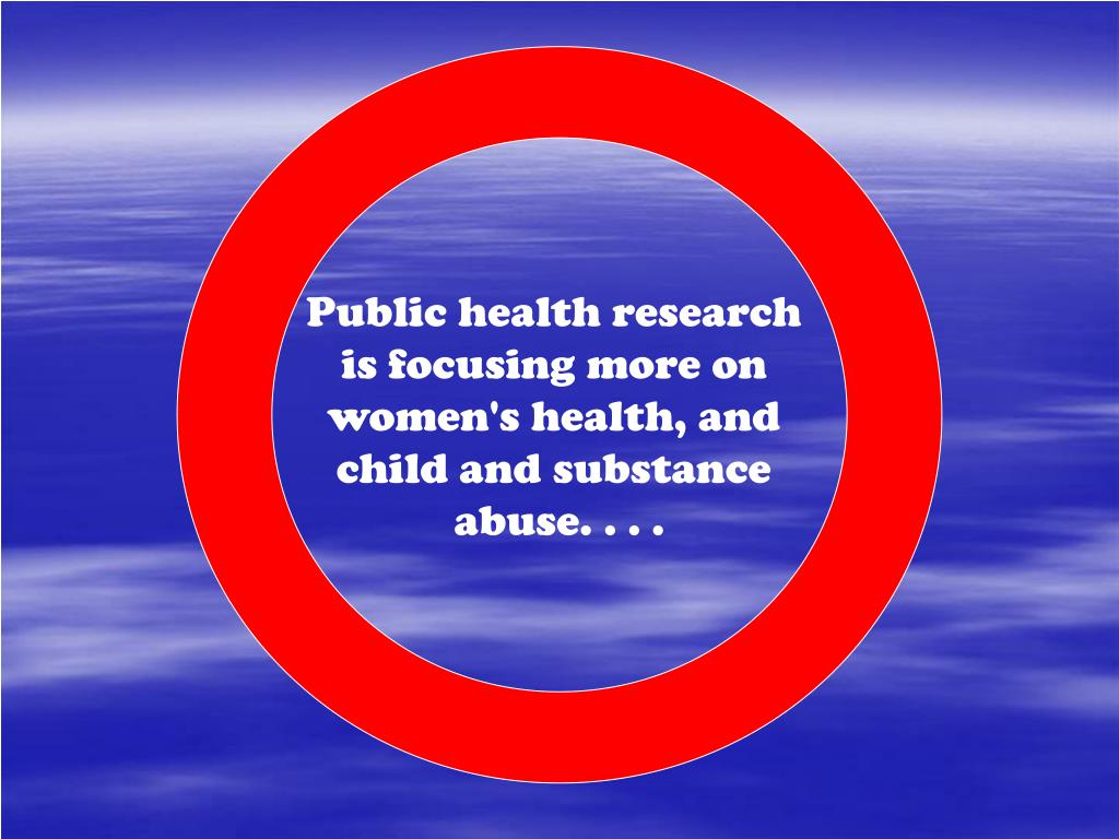 Public health research