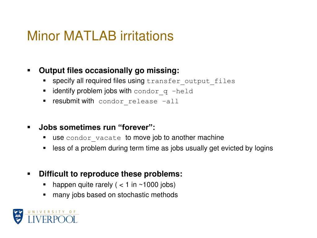 Minor MATLAB irritations