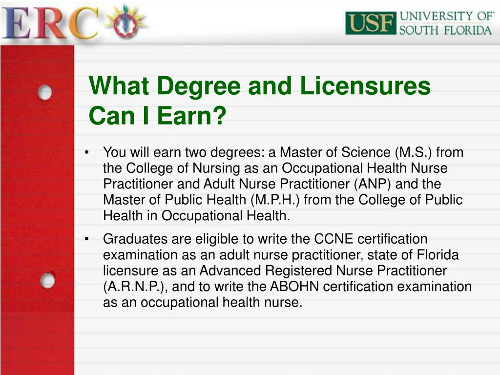 What Degree and Licensures Can I Earn?