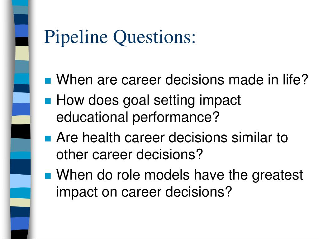 Pipeline Questions: