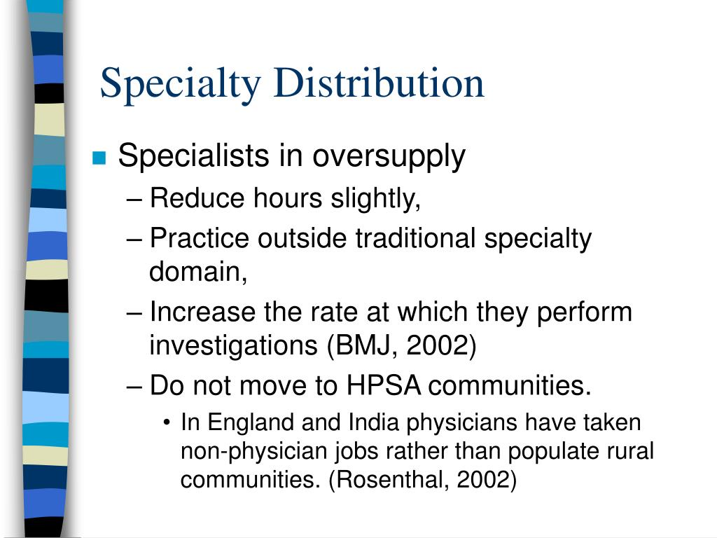 Specialty Distribution