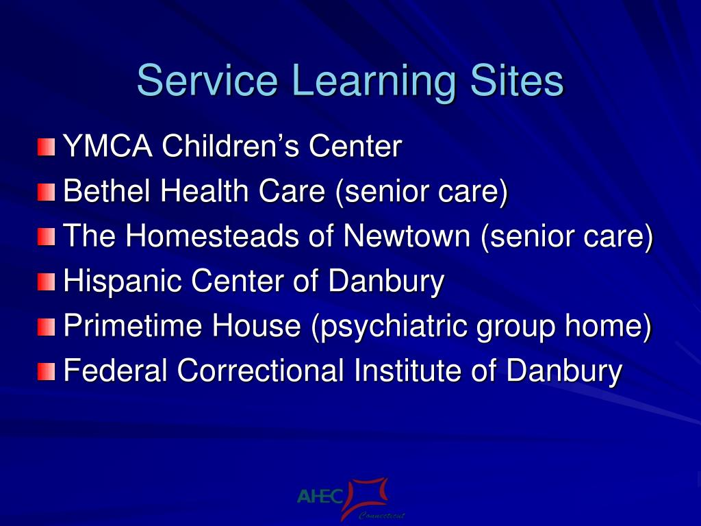 Service Learning Sites