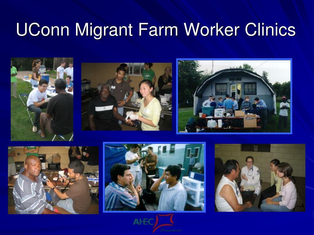 UConn Migrant Farm Worker Clinics