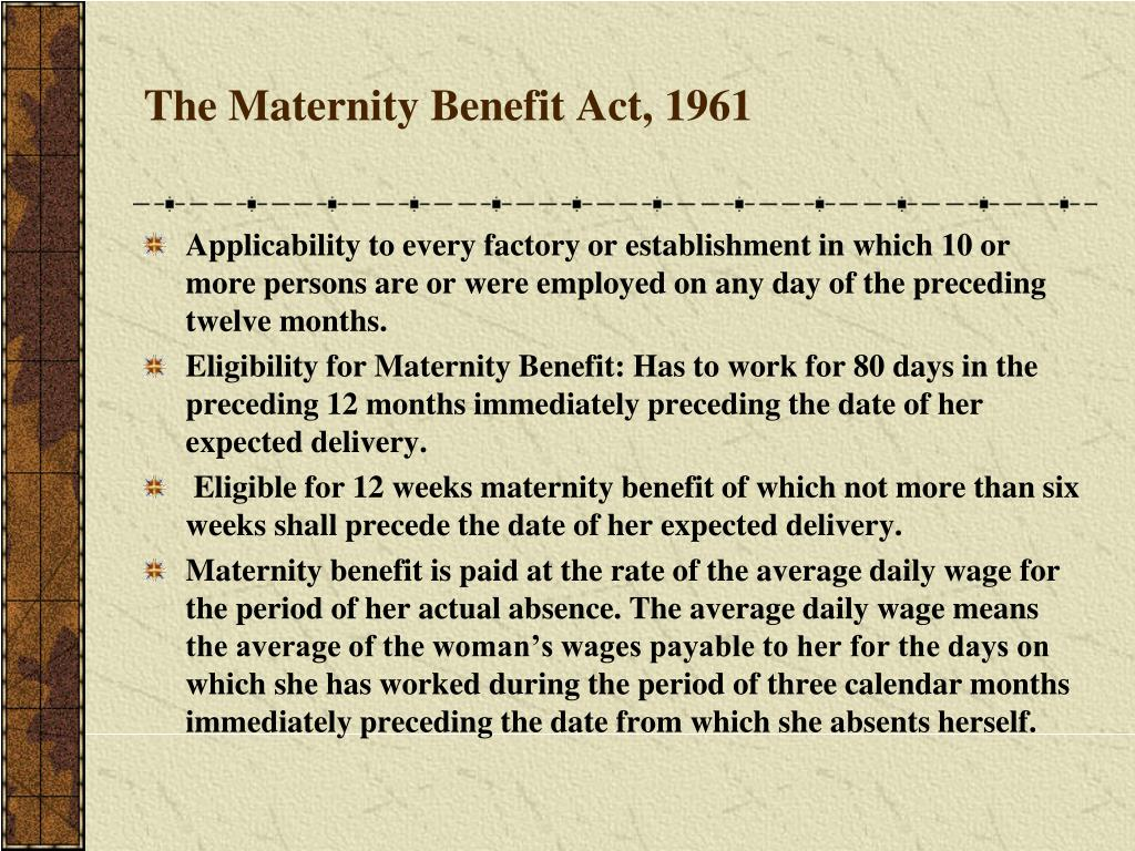 Maternity Benefit (Amendment) Act, 2017