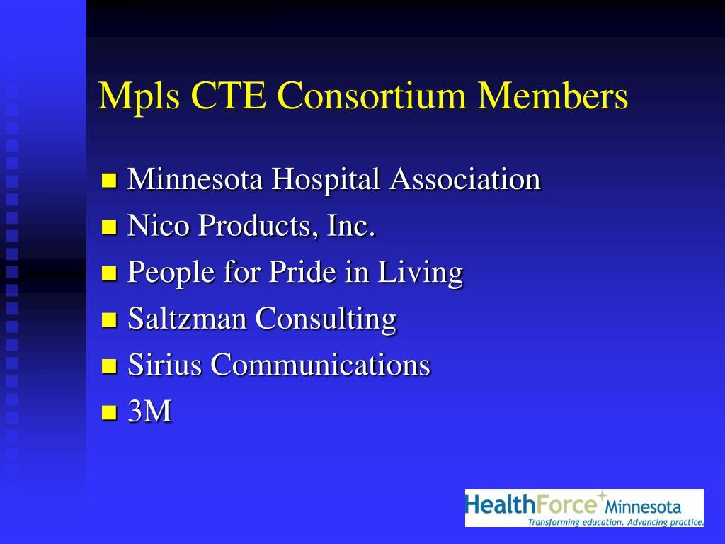 Mpls CTE Consortium Members