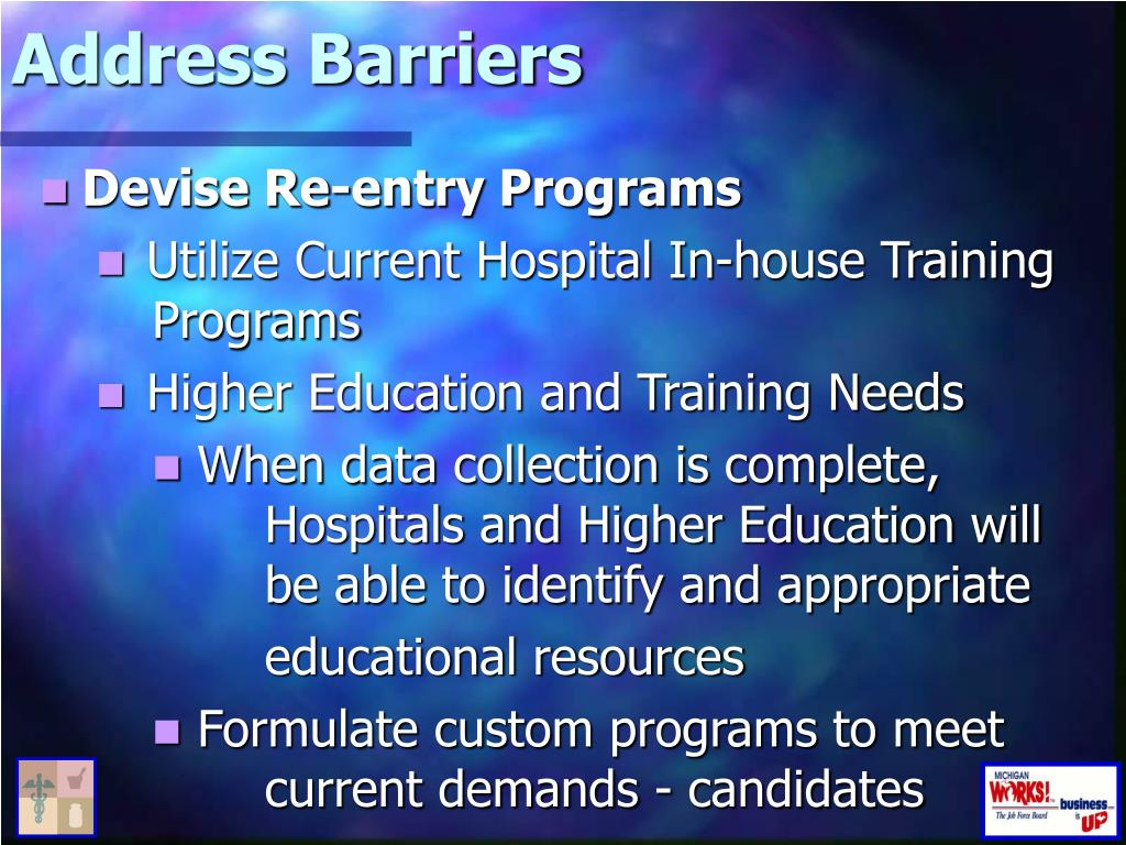 Address Barriers