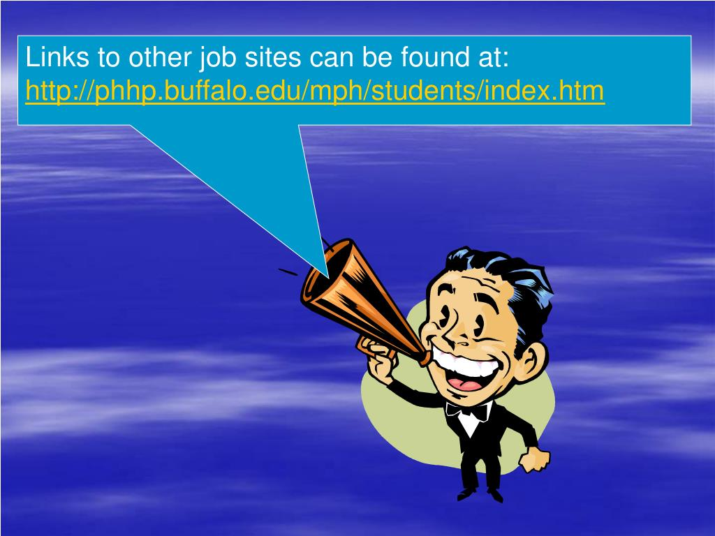 Links to other job sites can be found at: