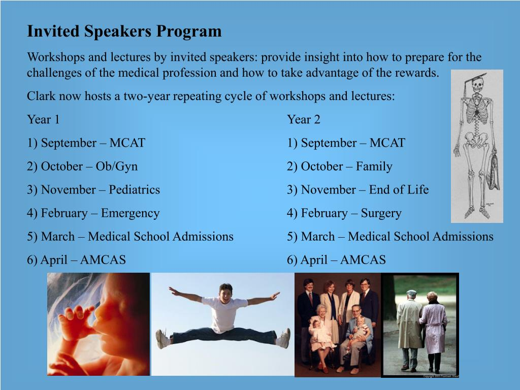Invited Speakers Program