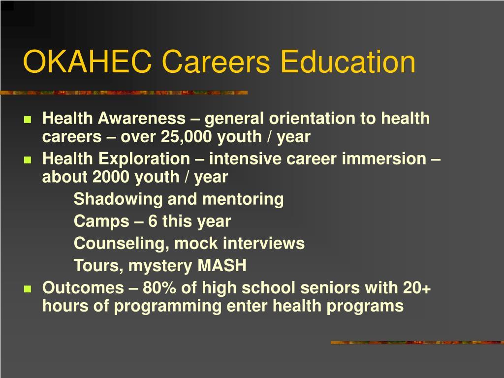 OKAHEC Careers Education