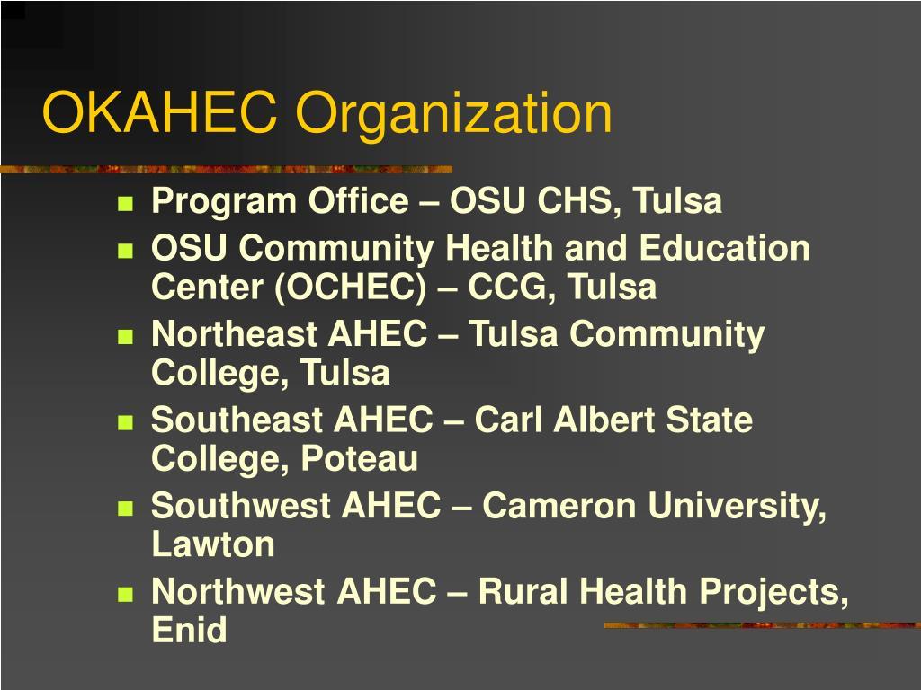 OKAHEC Organization
