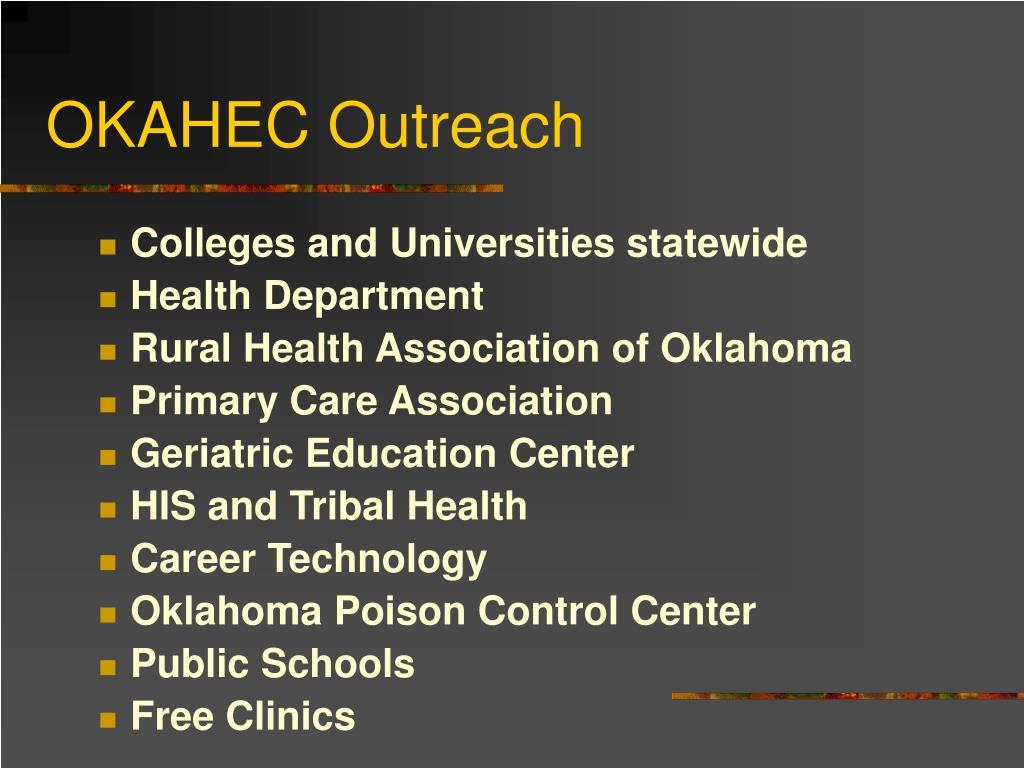 OKAHEC Outreach