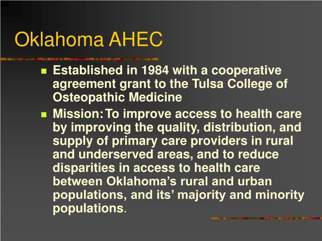 Oklahoma AHEC