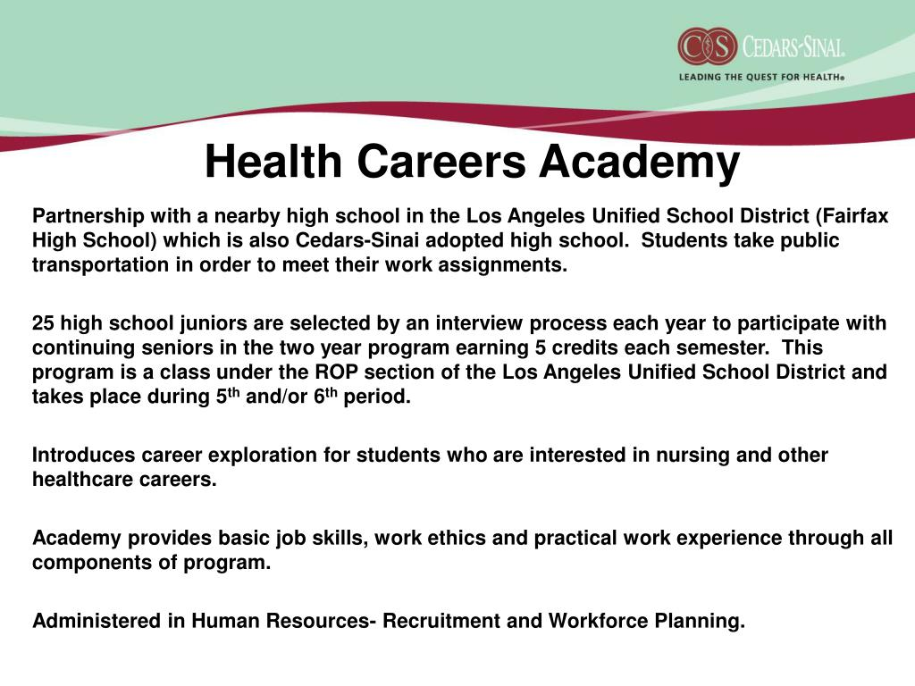 Health Careers Academy