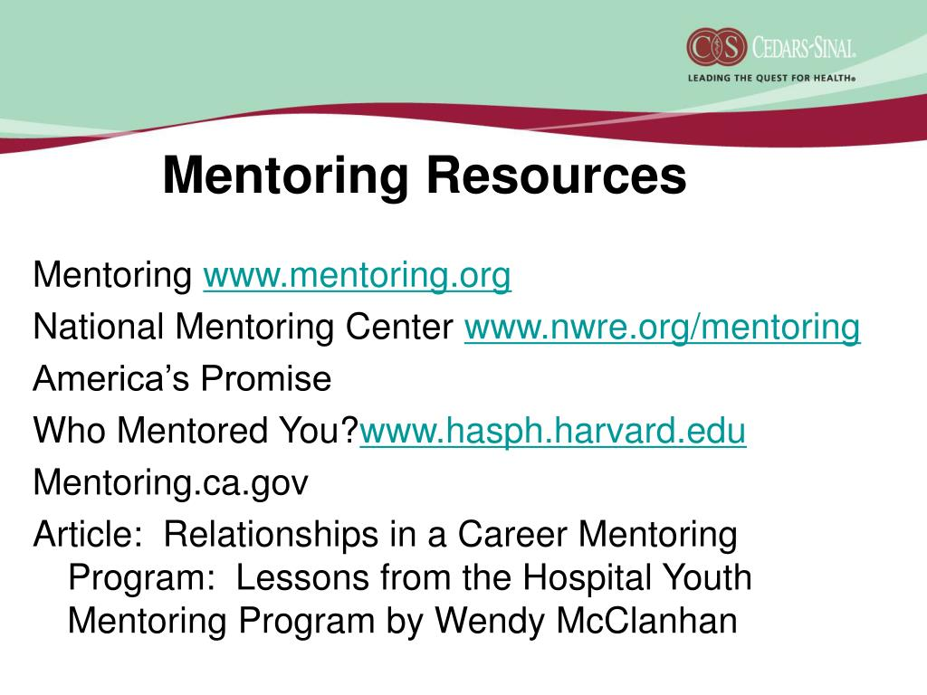Mentoring Resources