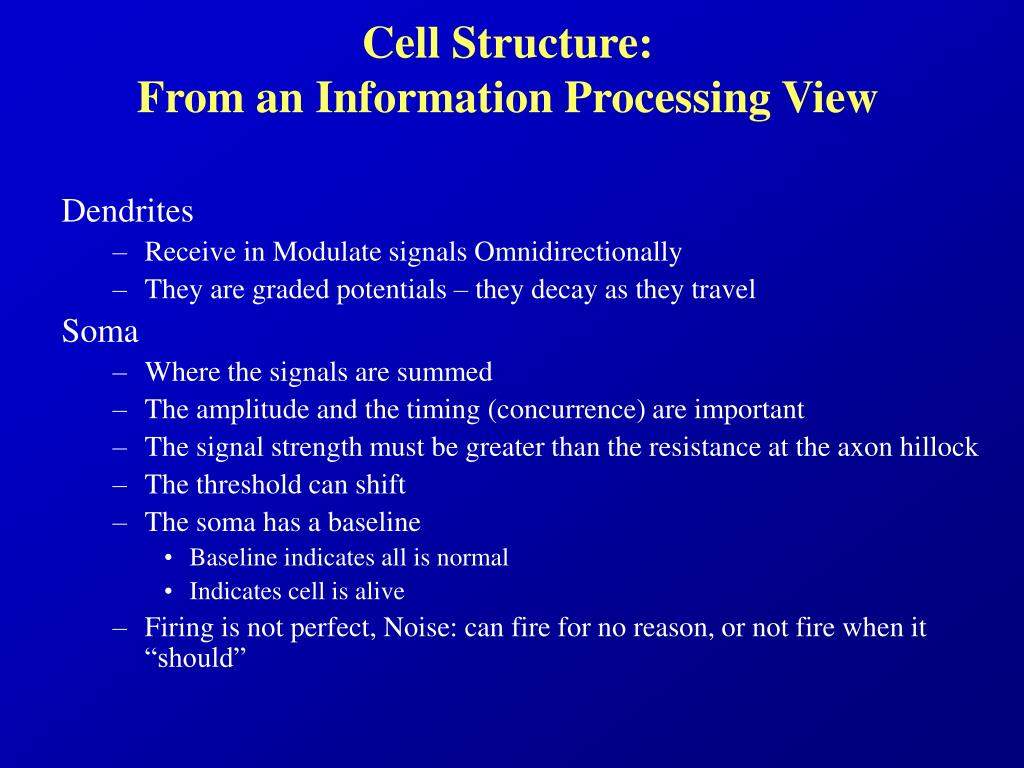 Cell Structure: