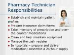 pharmacy technician responsibilities12