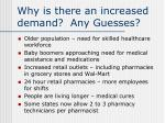 why is there an increased demand any guesses