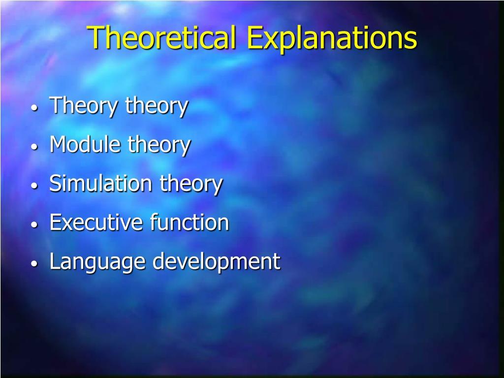 Theory theory