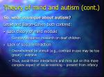 theory of mind and autism cont30