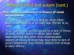 theory of mind and autism cont31