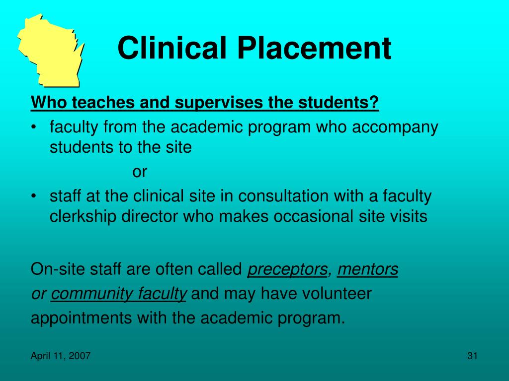 Clinical Placement