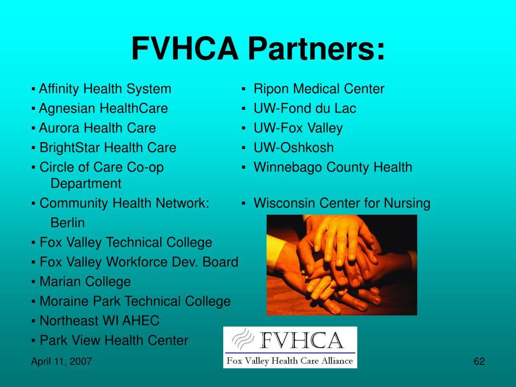 FVHCA Partners: