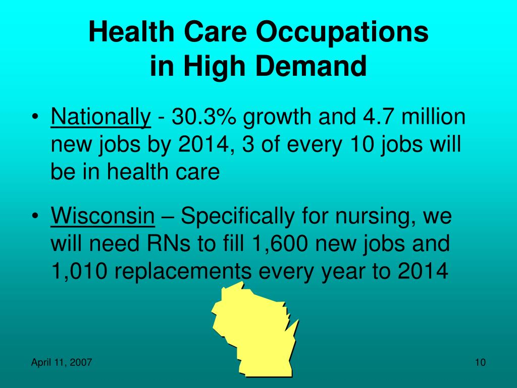 Health Care Occupations