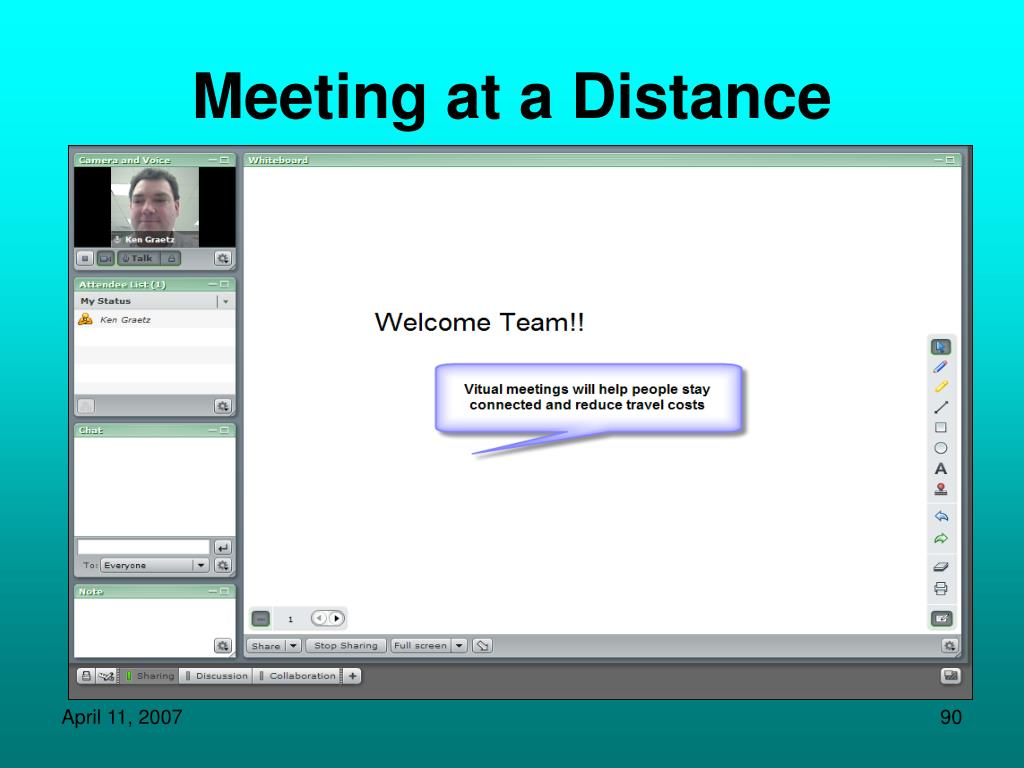 Meeting at a Distance