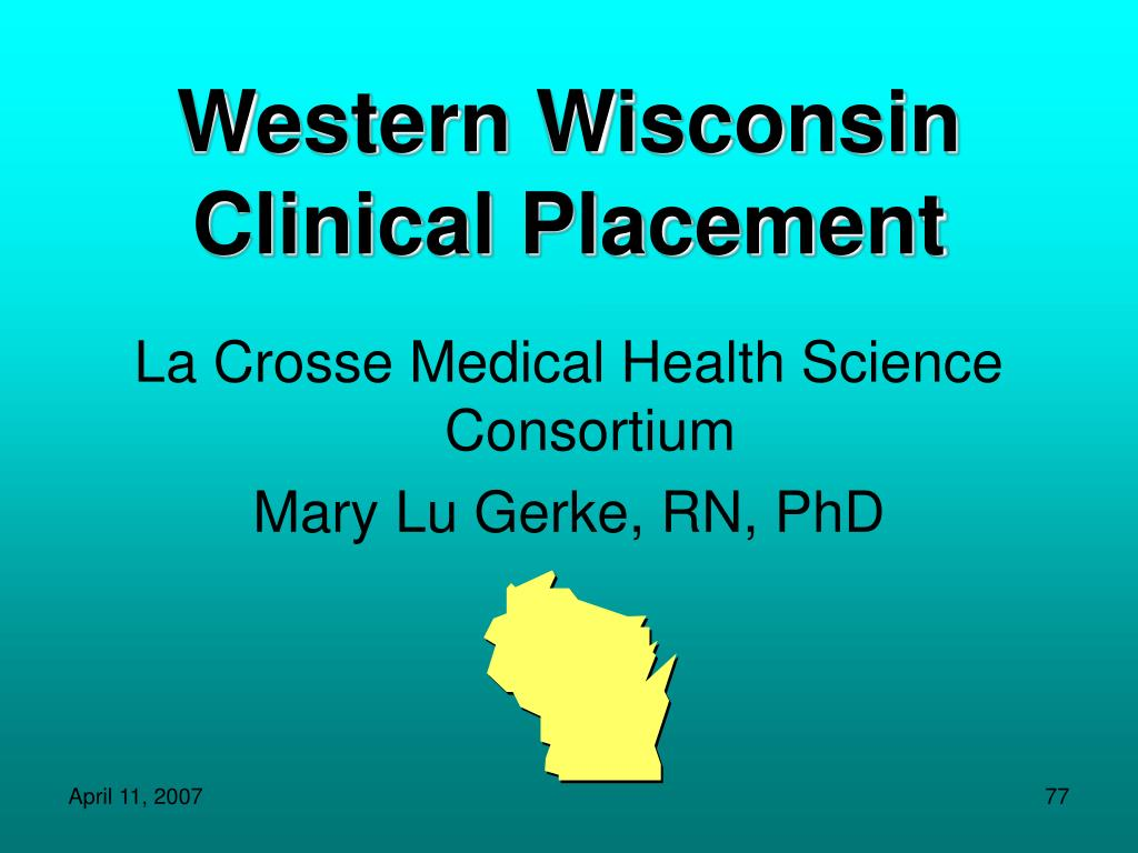 Western Wisconsin Clinical Placement