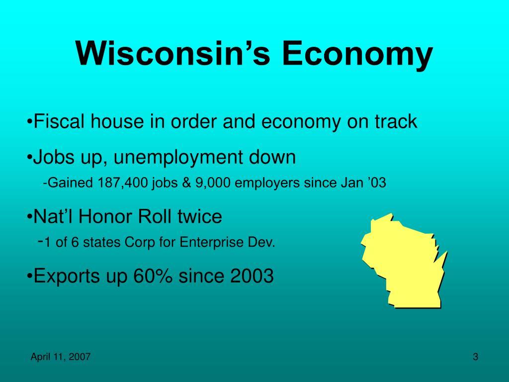 Wisconsin's Economy