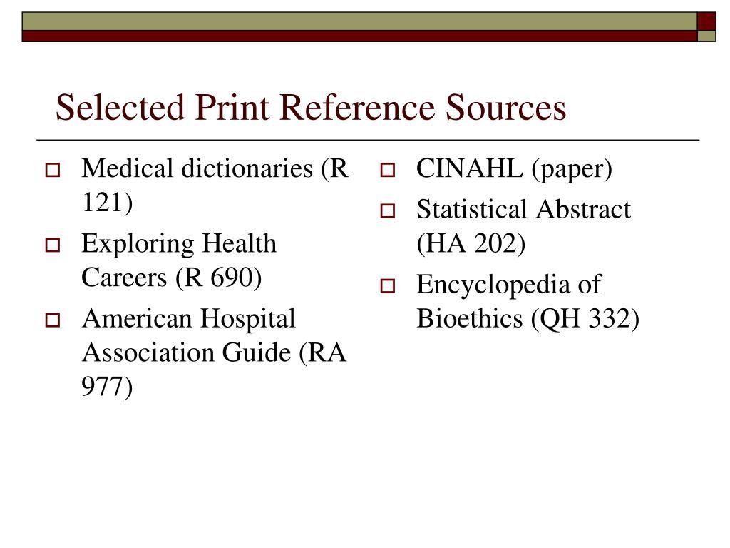 Medical dictionaries (R 121)