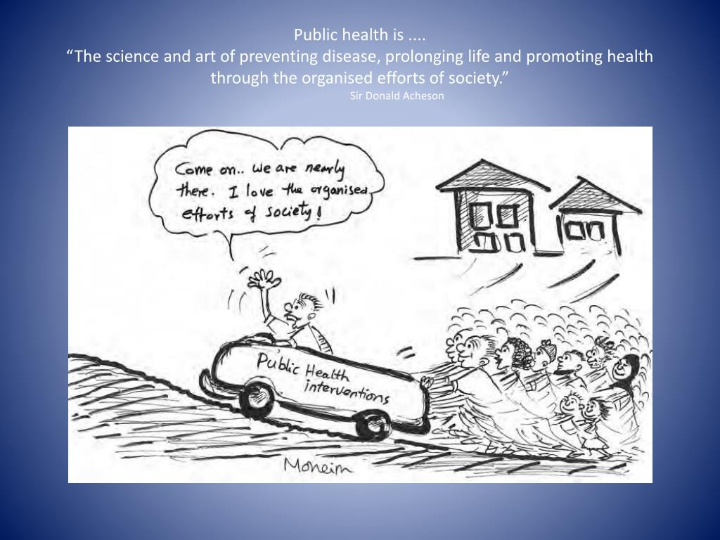 Public health is ....