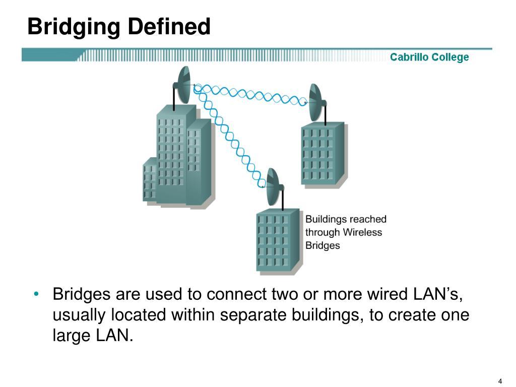 Bridging Defined