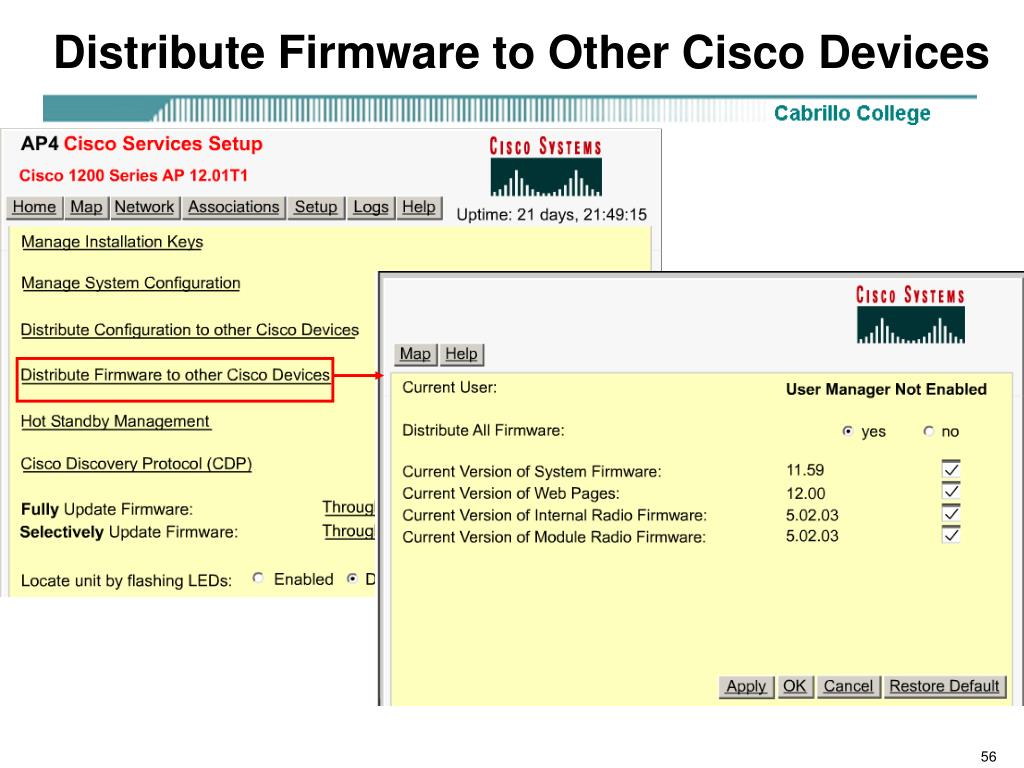 Distribute Firmware to Other Cisco Devices