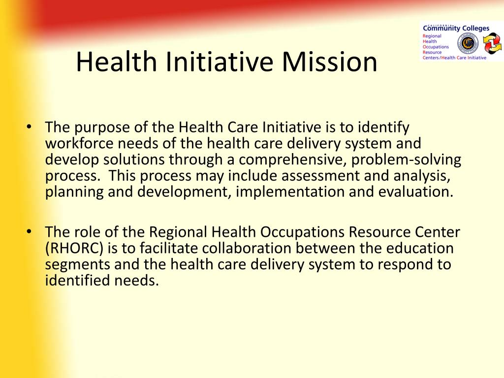 Health Initiative Mission