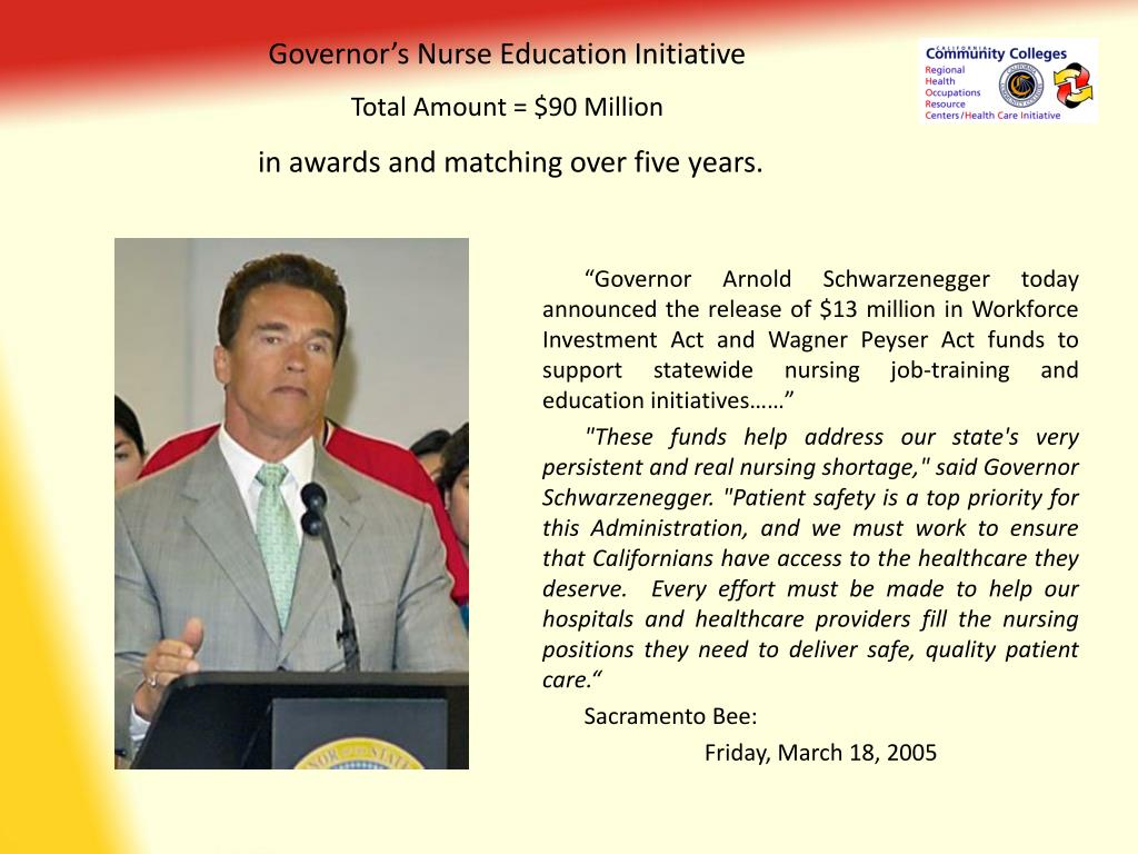 Governor's Nurse Education Initiative