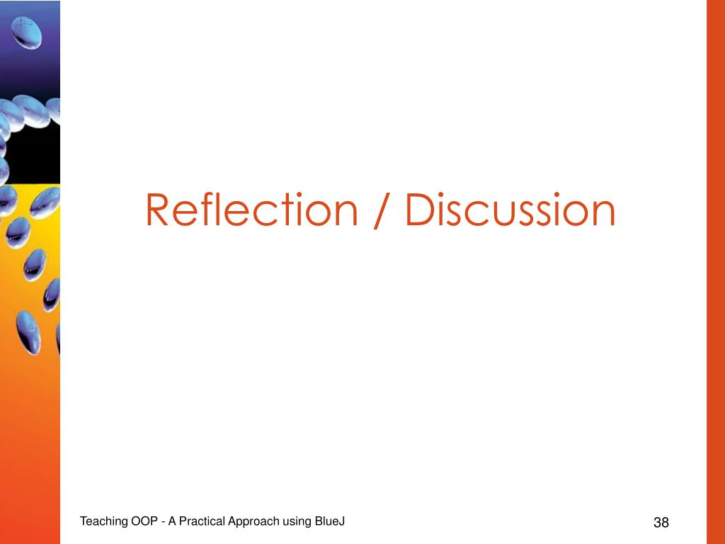 Reflection / Discussion
