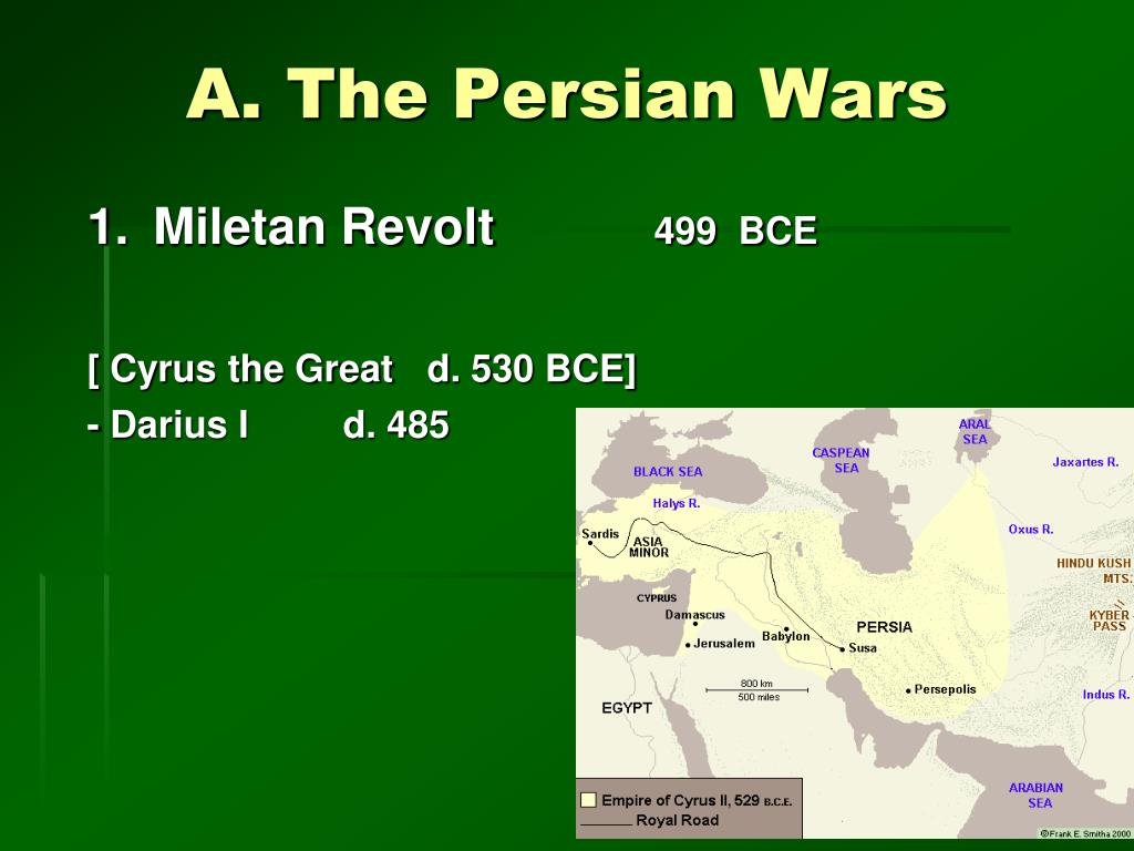 A. The Persian Wars