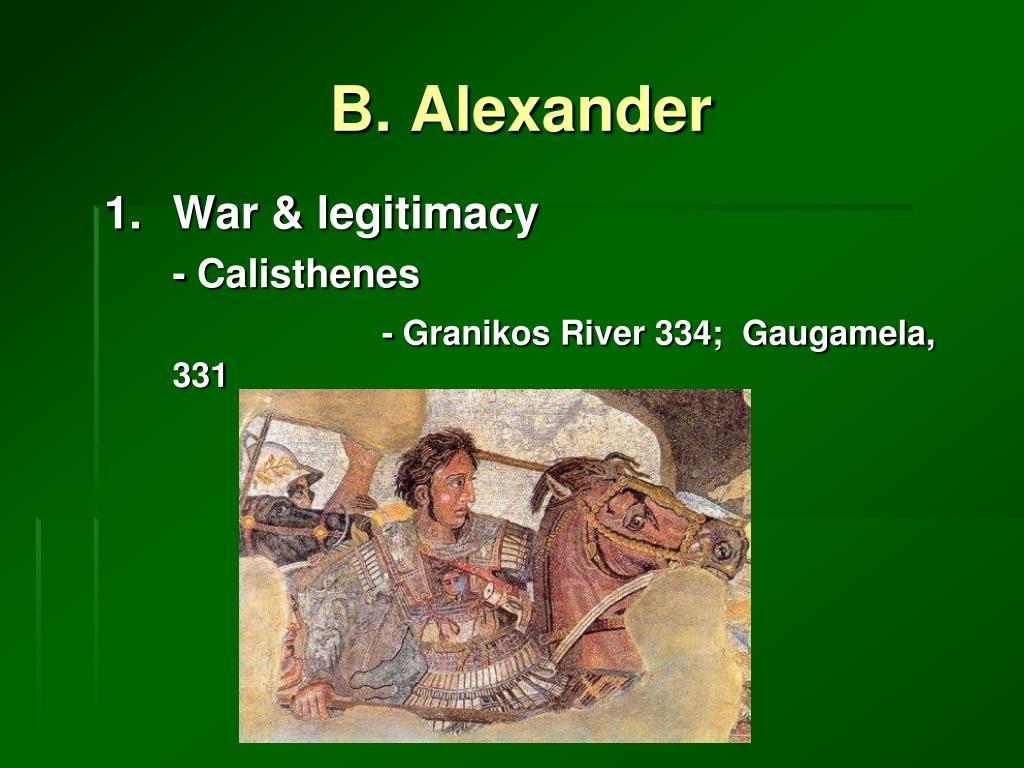 B. Alexander