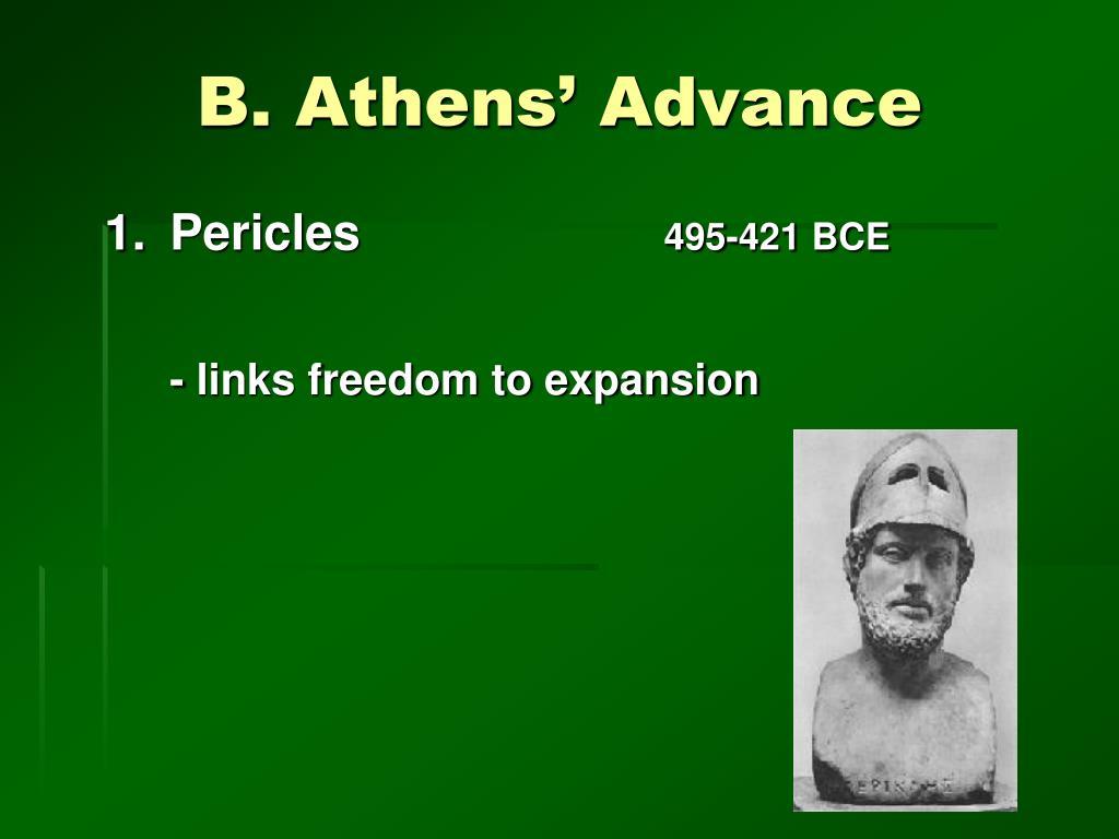 B. Athens' Advance