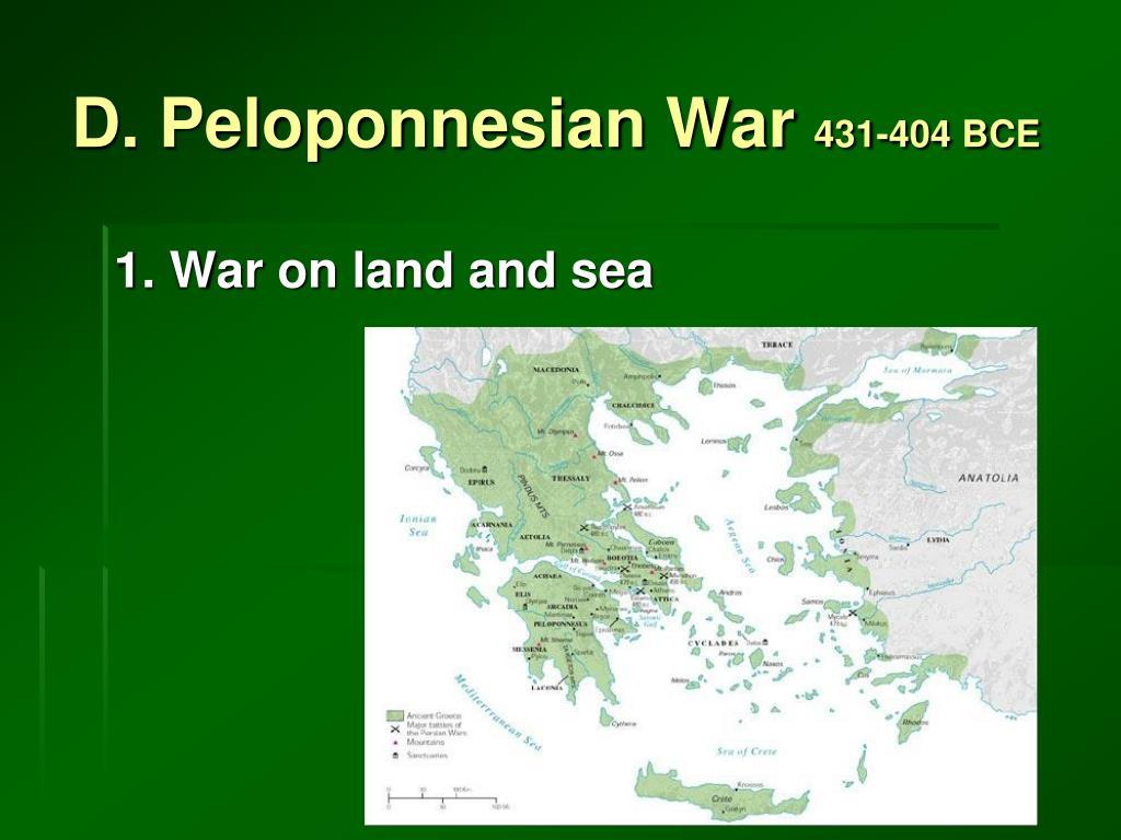 D. Peloponnesian War