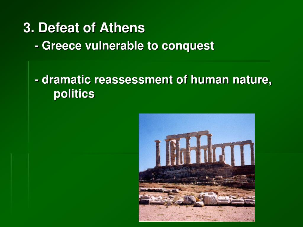3. Defeat of Athens